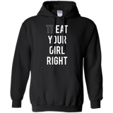 black funny quoted hoodie for girls/women/lesbian