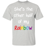 She's the other half of my Rainbow Lesbian Couple tShirt lesbian couple tshirt