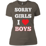 Sorry Girls I Love Boys - Gay Shirt