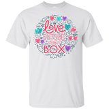 Love Outside The Box Half sleeves T Shirt LGBT Pride round neck shirt gay pride tshirt
