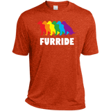 FURRIDE....Pride orange tshirt for men | pet lover tshirt