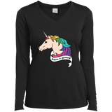 Believe in yourself unicorn black Full Sleeves Tshirt for women  LGBT Pride Believe in yourself Full Sleeves Tshirt for Women