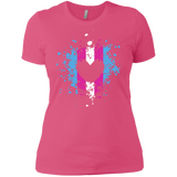Trans Heart Pride Pink Shirt for womens trans womens apparel