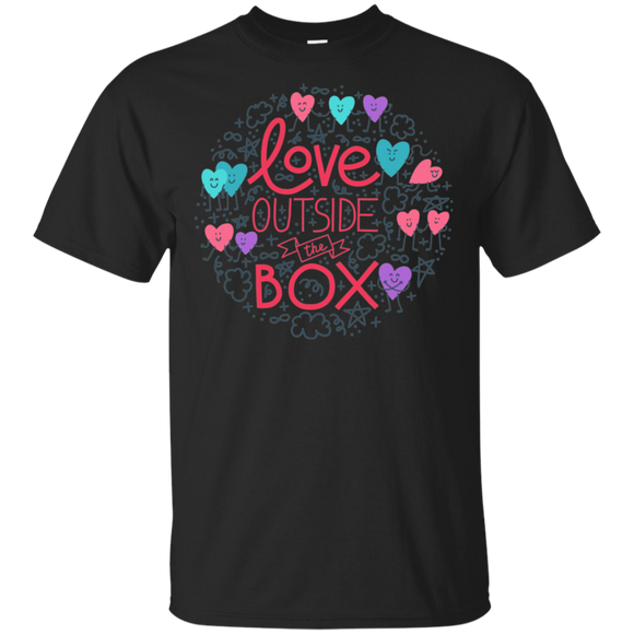 Love Outside The Box T Shirt LGBT Pride shirt gay pride tshirt