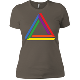 Funky Gay Pride Shirt Rainbow Triangle Gay Pride Tshirt