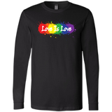 """Love is Love"" T Shirt for men Gay Pride Equality tshirt for men"