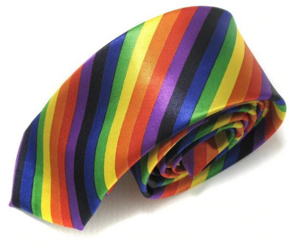 Exclusive Rainbow Pride Bow Tie