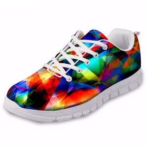 Breathable Rainbow Pride Air Mesh Unisex Casual Shoes