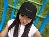 Rainbow Heartbeat Gay Pride Hat