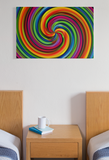 Rainbow Pride Illusion Canvas Print