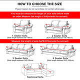 Sofa Cover for Living Room Elasticity Non-slip Couch Slipcover Universal Spandex Case for Stretch Sofa Cover
