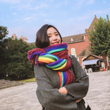 High Quality Rainbow Winter Scarf