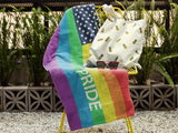 Rainbow Flag Pride Beach Towel