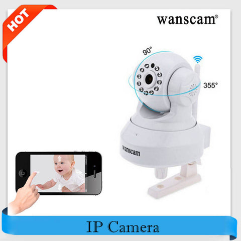 Wanscam HW0024 Remote Baby Monitor IP PTZ Camera W/Dual Audio
