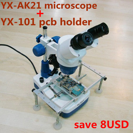 Microscope for cell phone Mobile Phone Repair with 20x-40x  zoom and with PCB STAND