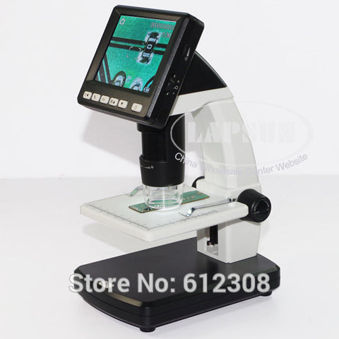 500X Portable Digital Mobile MicroScope with Foldable Screen
