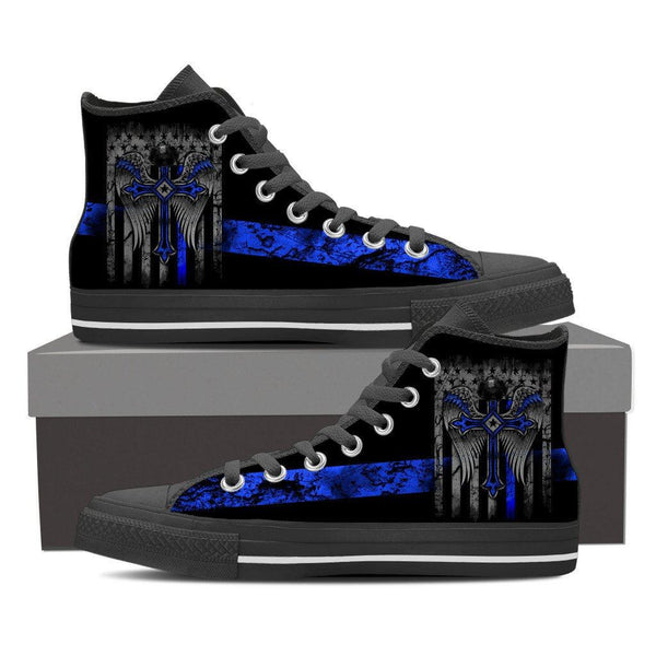 Peacemakers Mens High Top Shoes