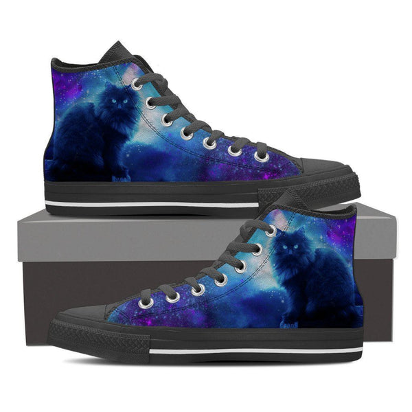 Cats Night Out Mens High Tops