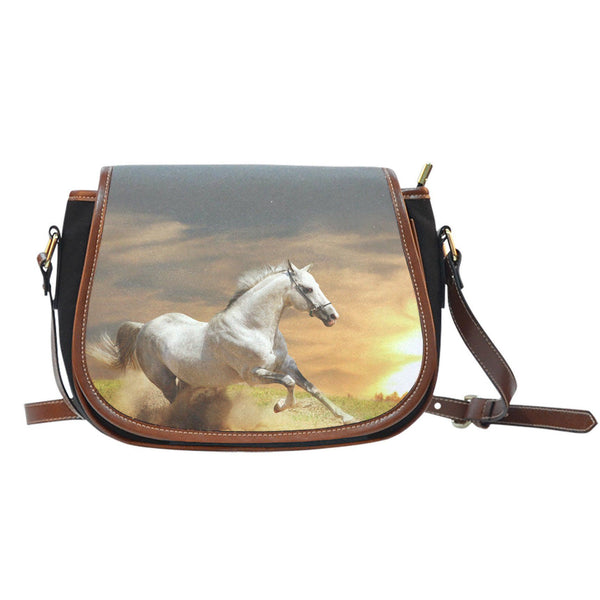 Signature Horse Saddle Bag