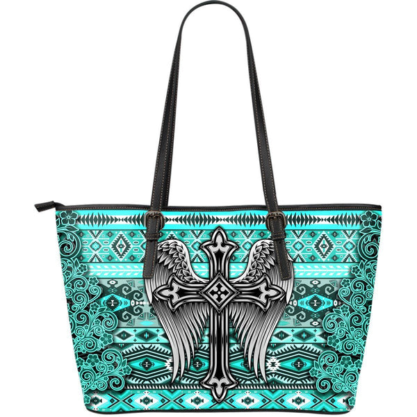 Western Angel Shoulder Bag Turquoise
