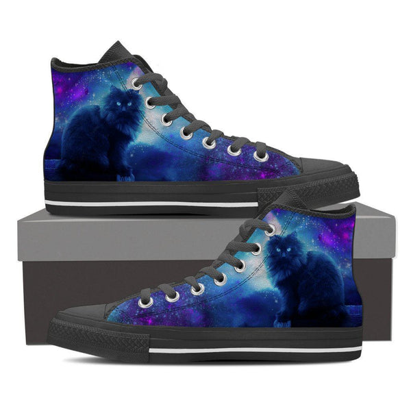Cats Night Out Womens High Top Shoes