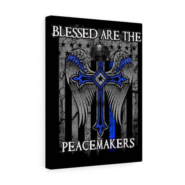 Blessed Are The Peacemakers Stretched Art Canvas