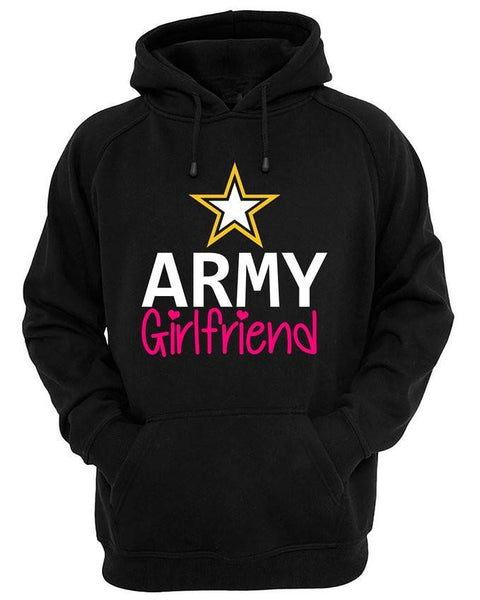 Army Girlfriend Military USA Hoodie
