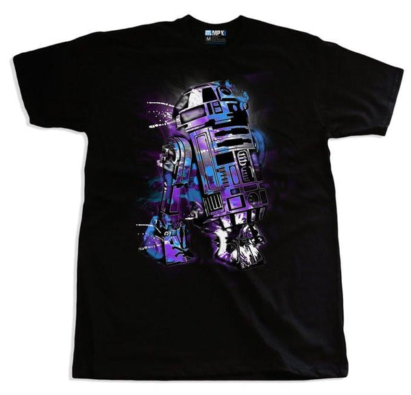 R2D2 Graffiti Mens Tshirt