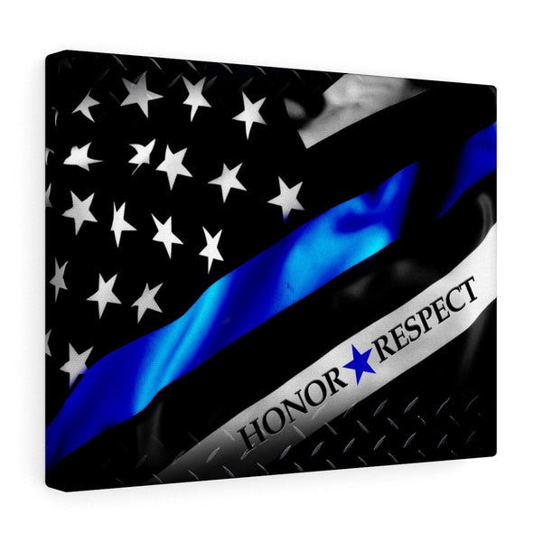 Honor ★★★ Respect Stretched Art Canvas