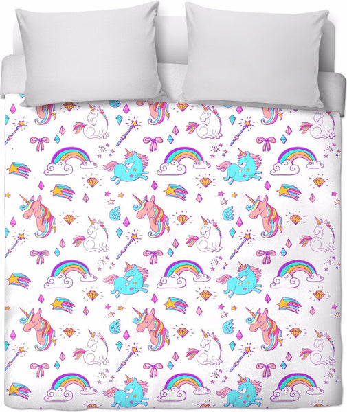Unicorn Fantasy Duvet Cover