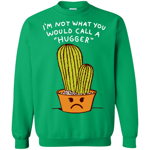 Im Not A Hugger Sweatshirt