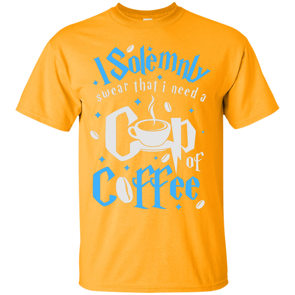 I Solemnly Swear I Need Coffee Mens Tshirt