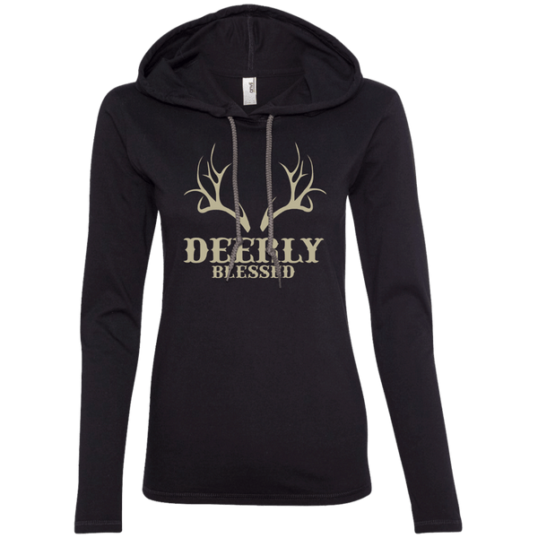 Deerly Blessed Ladies Hoodie