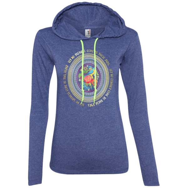 Hamsa Prayer Ladies T-Shirt Hoodie
