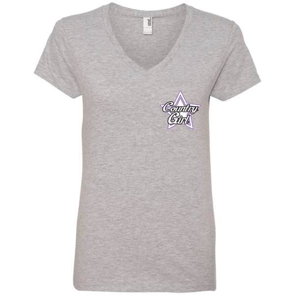 Kiss My Ladies' V-Neck Tee