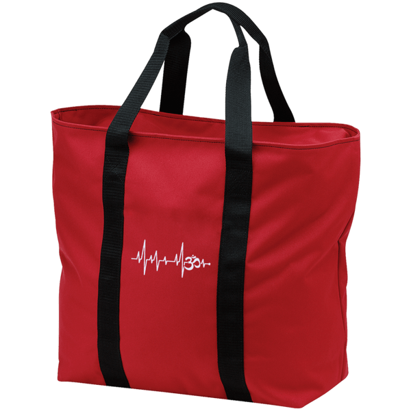 Om Heartbeat All Purpose Tote Bag