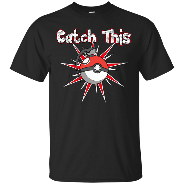 Catch This Pokeball Mens Tshirt