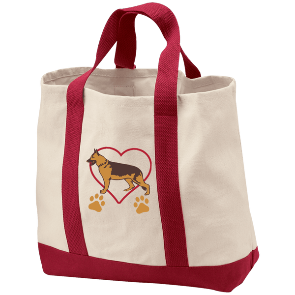 German Shepherd Shopping Tote