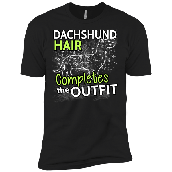 Dachshund Hair Mens Tshirt