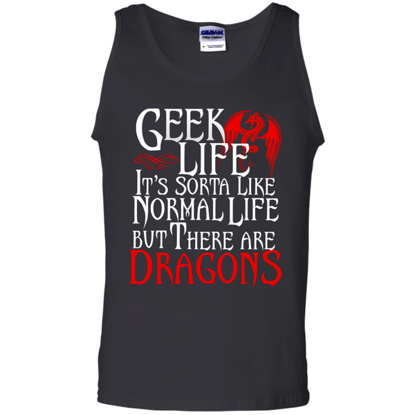 Geek Life Mens Tank Top