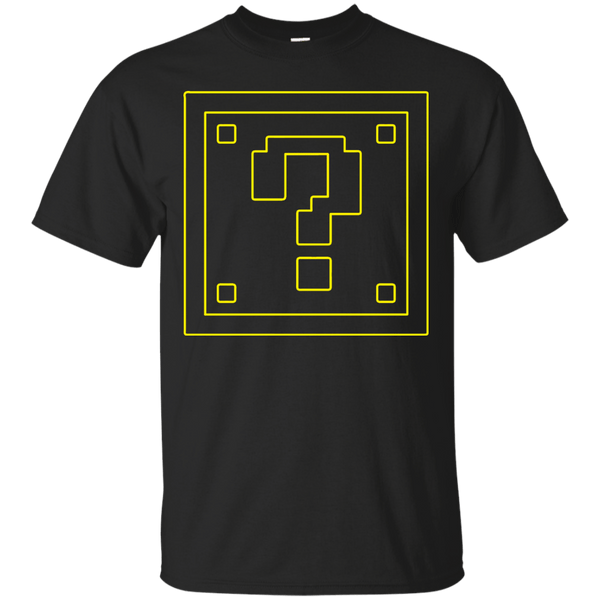 Mario Question Block Mens Tshirt