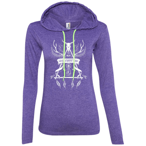 Good Vibrations is Key Ladies Hoodie