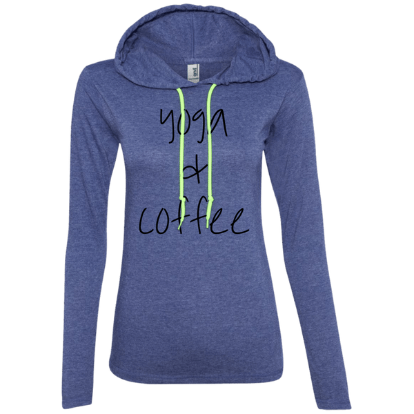 Yoga & Coffee Ladies Hoodie