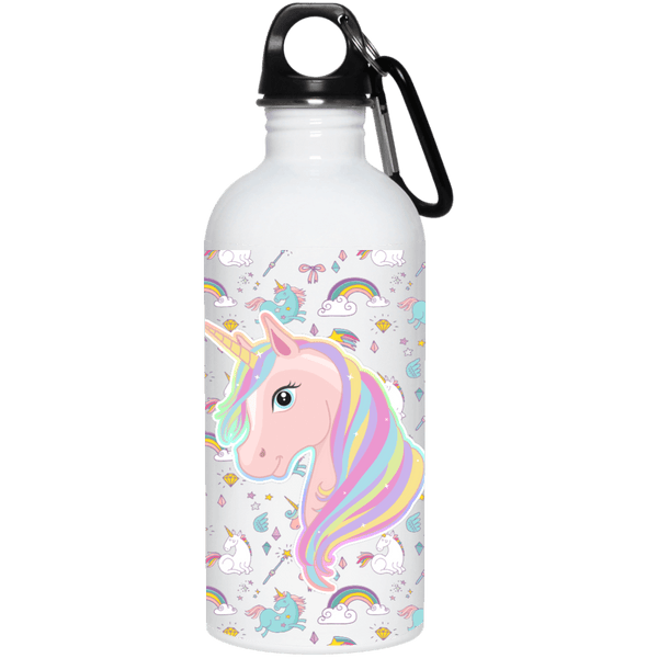 Unicorn Fantasy Steel Water Bottle