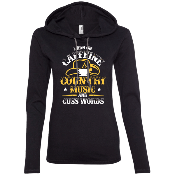 Caffeine & Country Ladies Hoodie