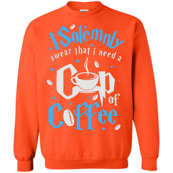 I Solemnly Swear I Need Coffee Sweatshirt