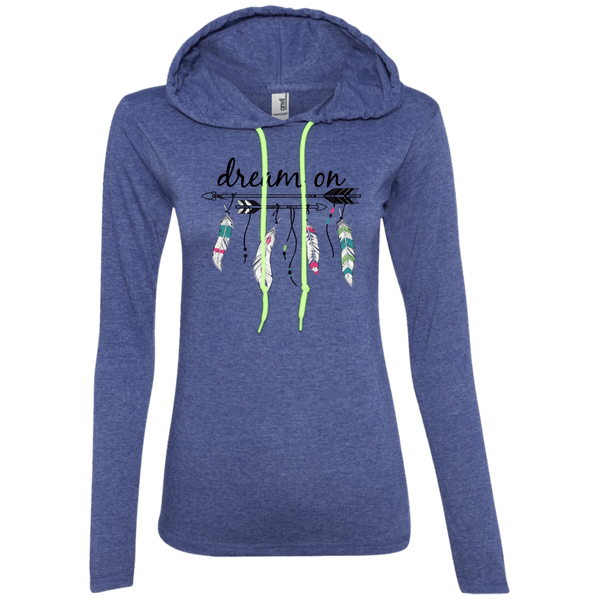 Dream On Ladies Tshirt Hoodie