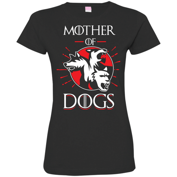 Mother Of Dogs Womens Tshirt