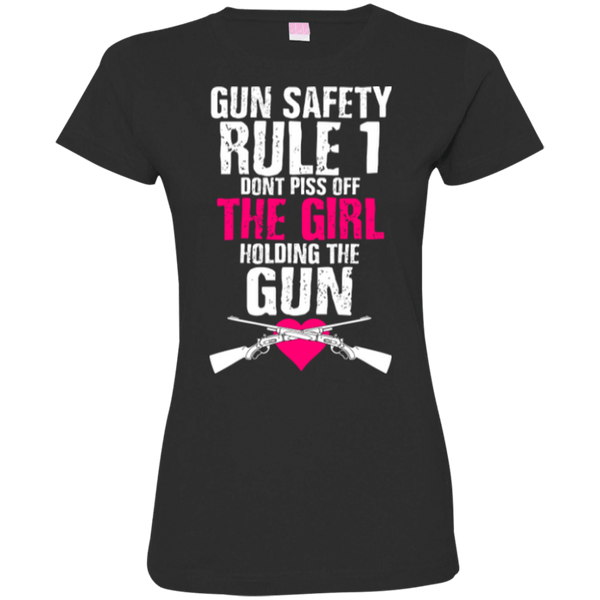 Gun Safety Womens Tshirt