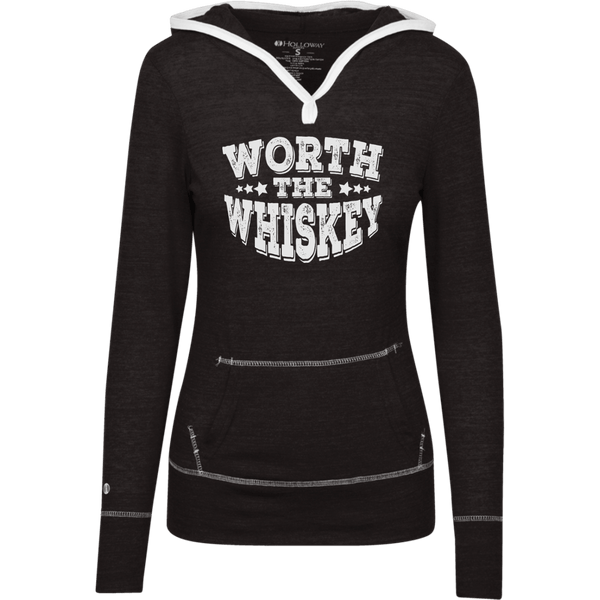 Worth The Whiskey Junior Lightweight T-Shirt Hoodie